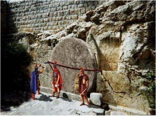 guard at tomb