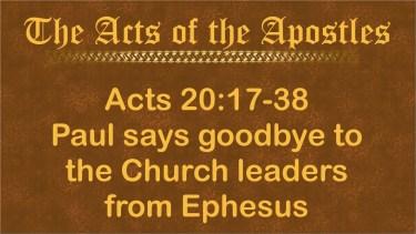 Ephesus farewell
